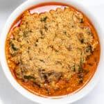 Egusi Soup - Nigerian Melon Seed Stew