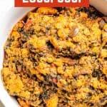 Egusi soup pinterest
