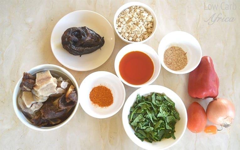 Egusi soup prep 1