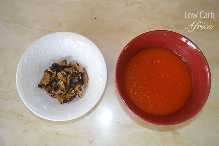 Egusi soup prep 2