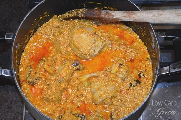 Egusi soup prep 5