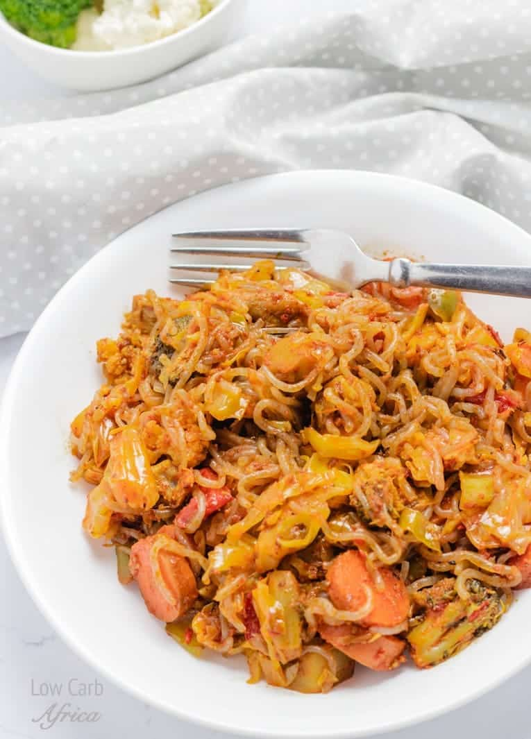shirataki noodles stir fry keto
