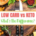 Low Carb vs Keto, What's The Difference?