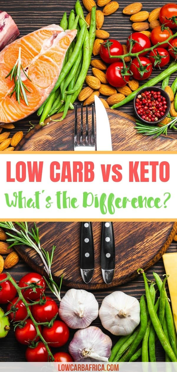 low carb vs keto whats the difference