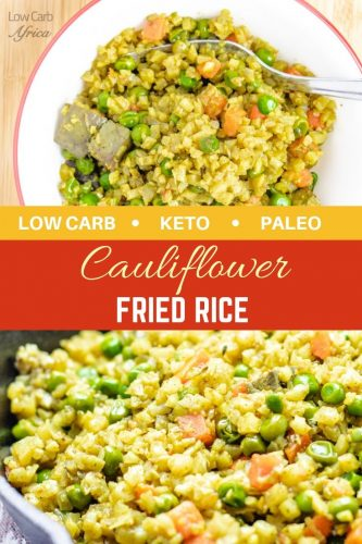 cauliflower fried rice pinterest