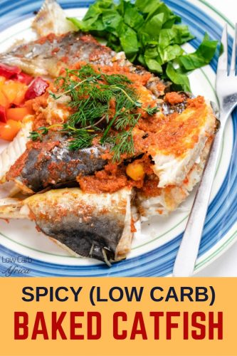 Spicy Oven Baked Catfish pinterest1