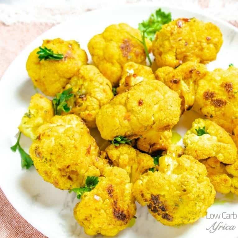 Roasted Turmeric Cauliflower