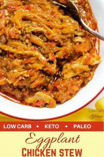 eggplant chicken stew pinterest