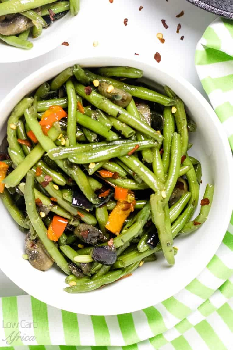 main image for sauteed green beans and mushrooms recipe