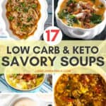 17 Low Carb Soups That'll Keep You Warm & Cozy!