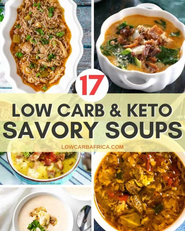 17 Keto Savory Fall Soups That Will Keep You Warm & Cozy