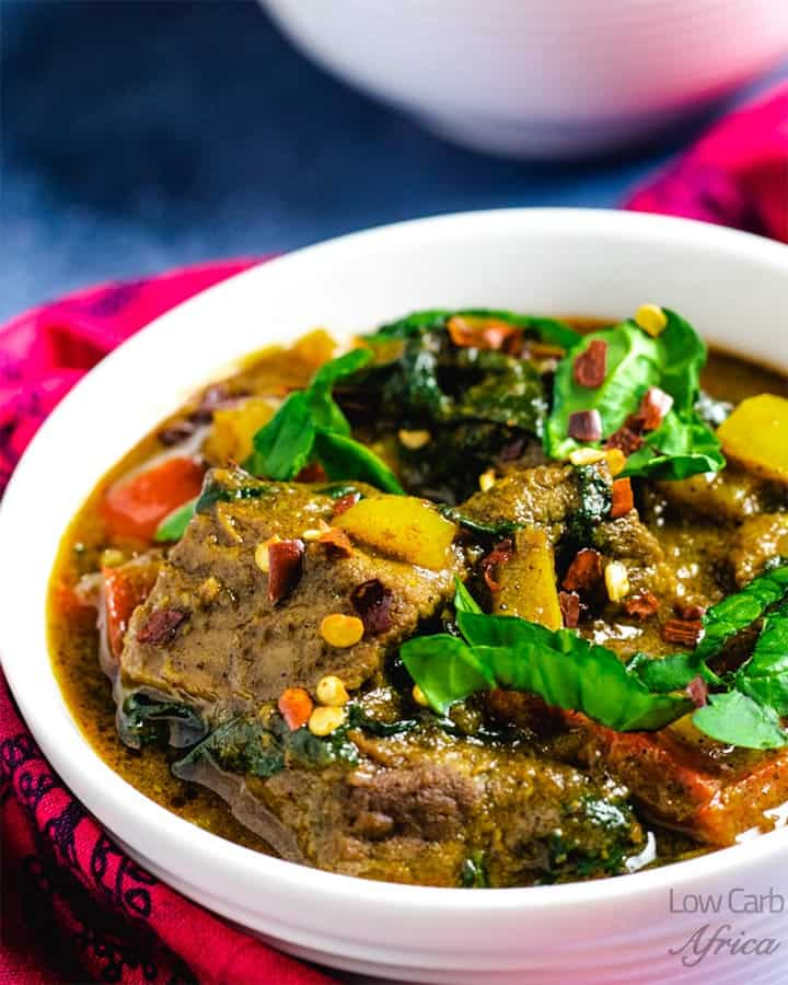 Lamb curry with coconut milk featured image