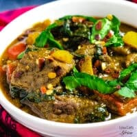 Lamb curry with coconut milk recipe carb image