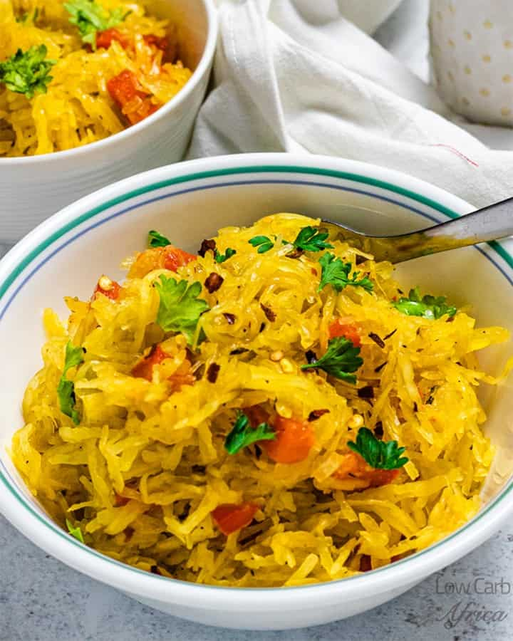 tasty spaghetti squash recipe featured image