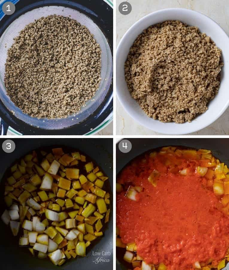 beniseed soup african sesame stew preparation
