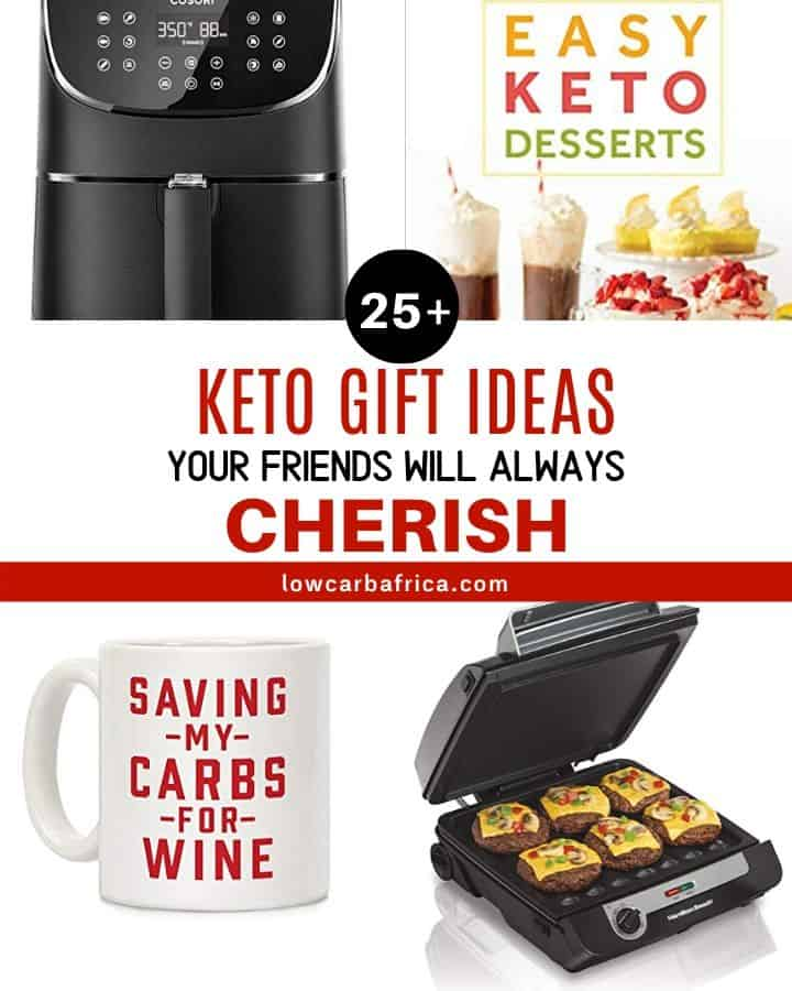 keto gift ideas featured image