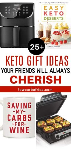 keto and low carb holiday and christmas gift ideas