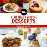 20+ Scrumptious Keto Holiday Desserts