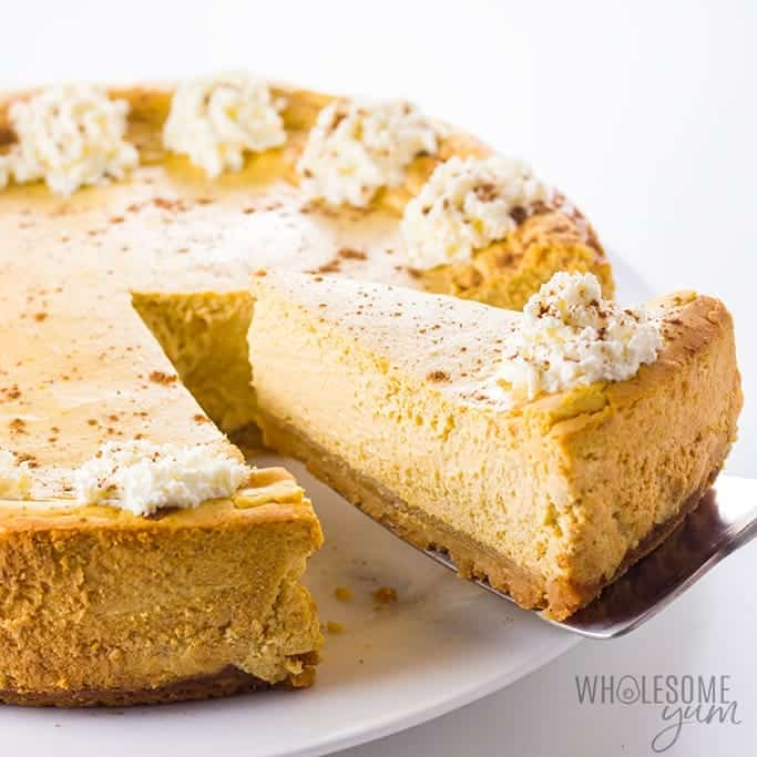 Low Carb Keto Pumpkin Cheesecake Recipe