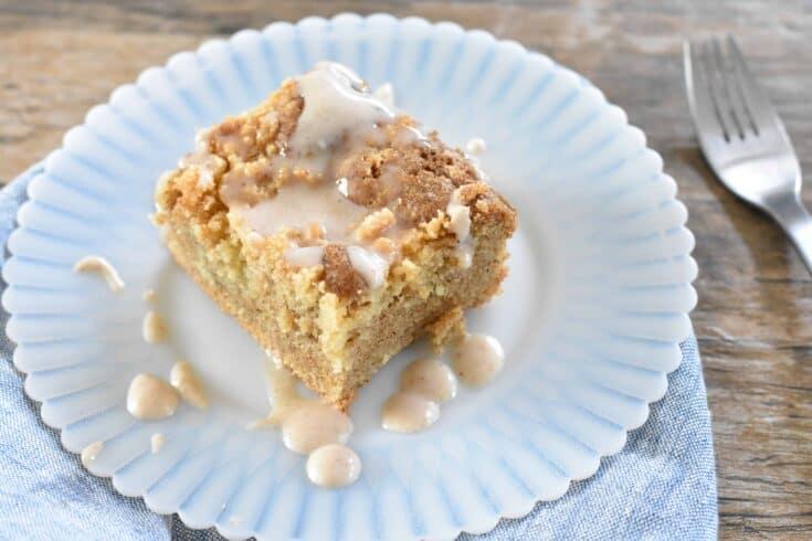 Low Carb Almond Coffee Cake
