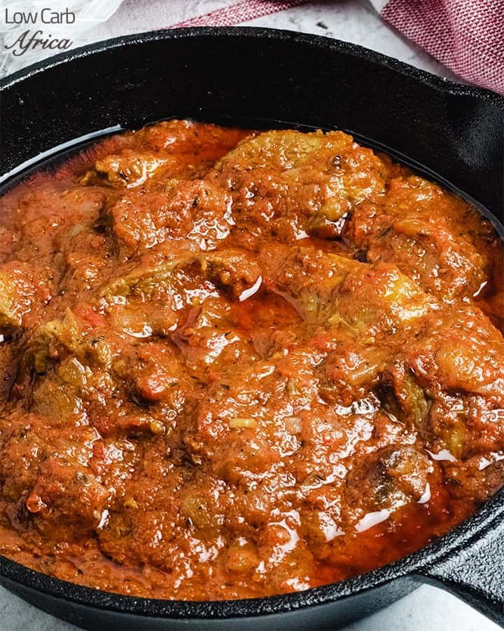 nigerian beef stew is a staple in the nigerian keto diet