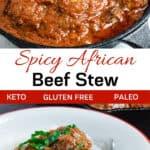 Nigerian Beef Stew pinterest