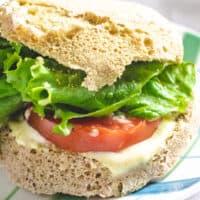 90 second Cinnamon Keto Bread sandwich
