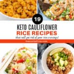 best keto Cauliflower rice recipes roundup homepage