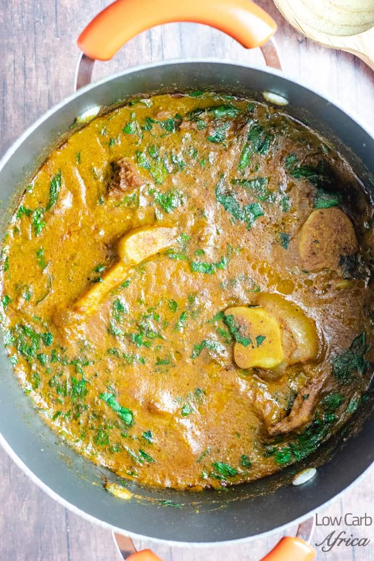 Ogbono soup (Draw Soup)