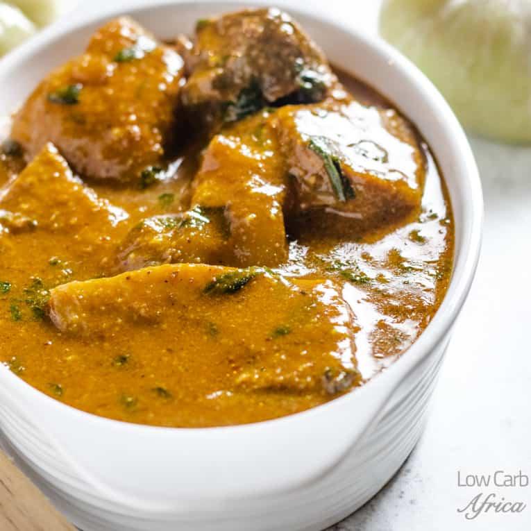 Nigerian ogbono soup
