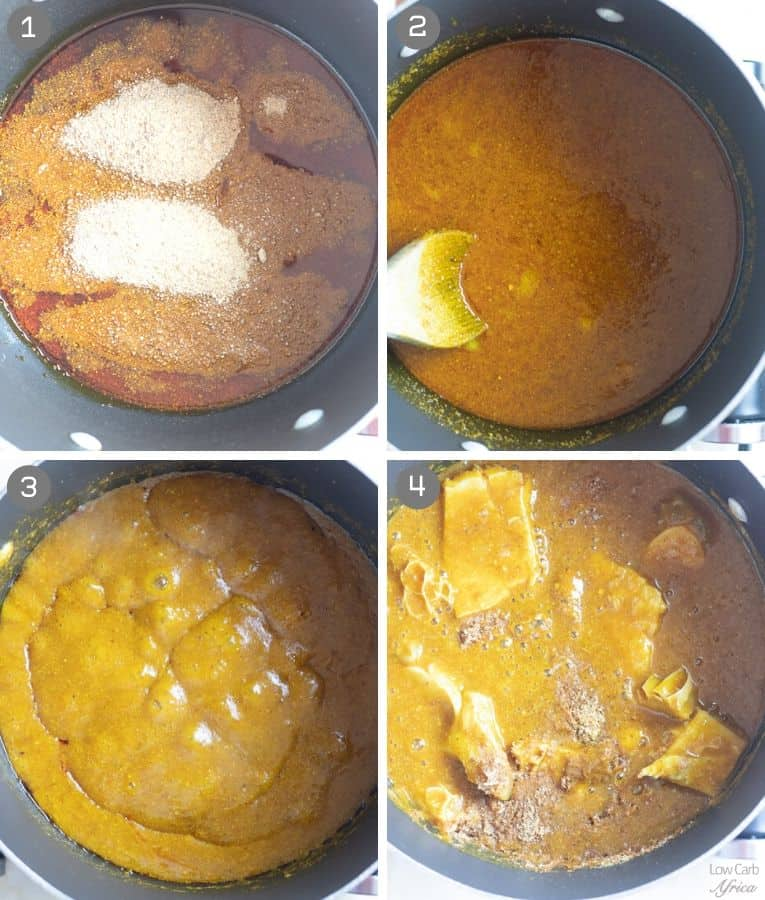 how to cook ogbono draw soup