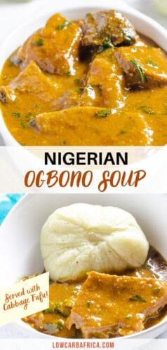 Ogbono soup (Draw Soup) pinterest