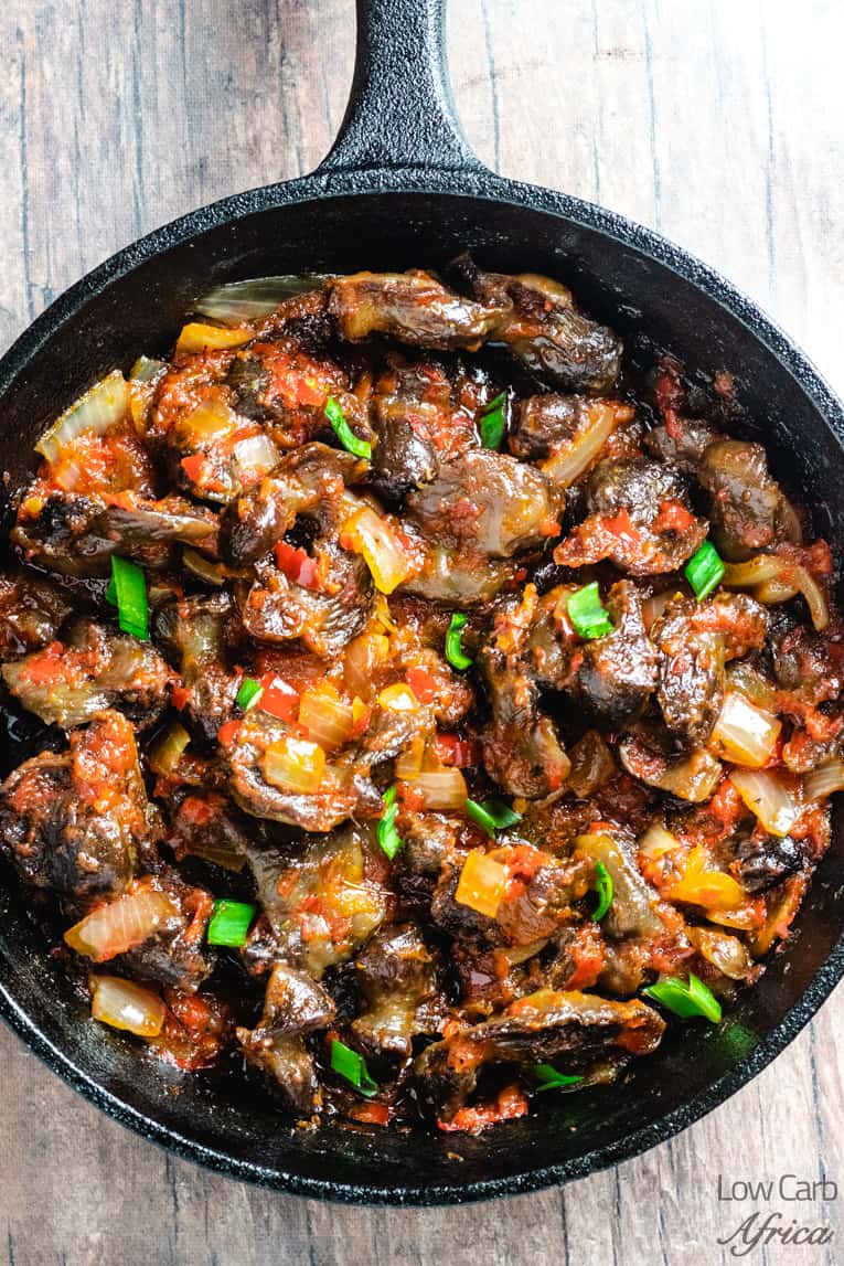 nigerian peppered gizzard recipe main image
