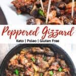 Peppered gizzard pinterest image