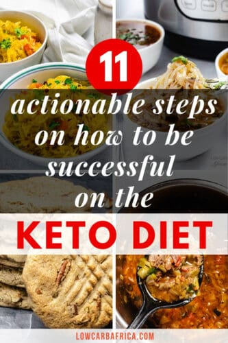 how to be successful on the keto diet pinterest