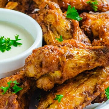 Keto Hot Wings with Ghost Pepper main featured image