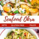 Seafood Okra pinterest image