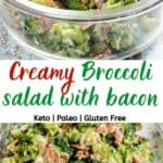Broccoli Salad With Bacon And Sunflower Seeds pinterest