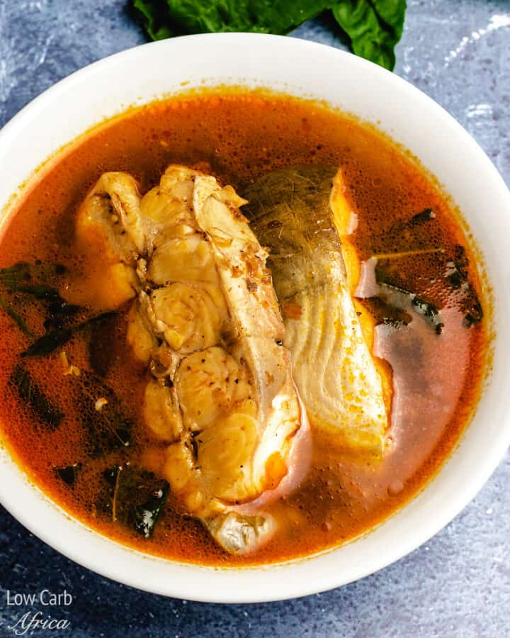 nigerian catfish pepper soup is a party favorite