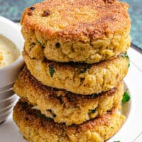 featured image for making keto fish cakes
