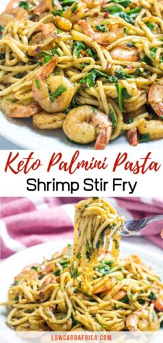 palmini noodle shrimp stir fry pinterest image