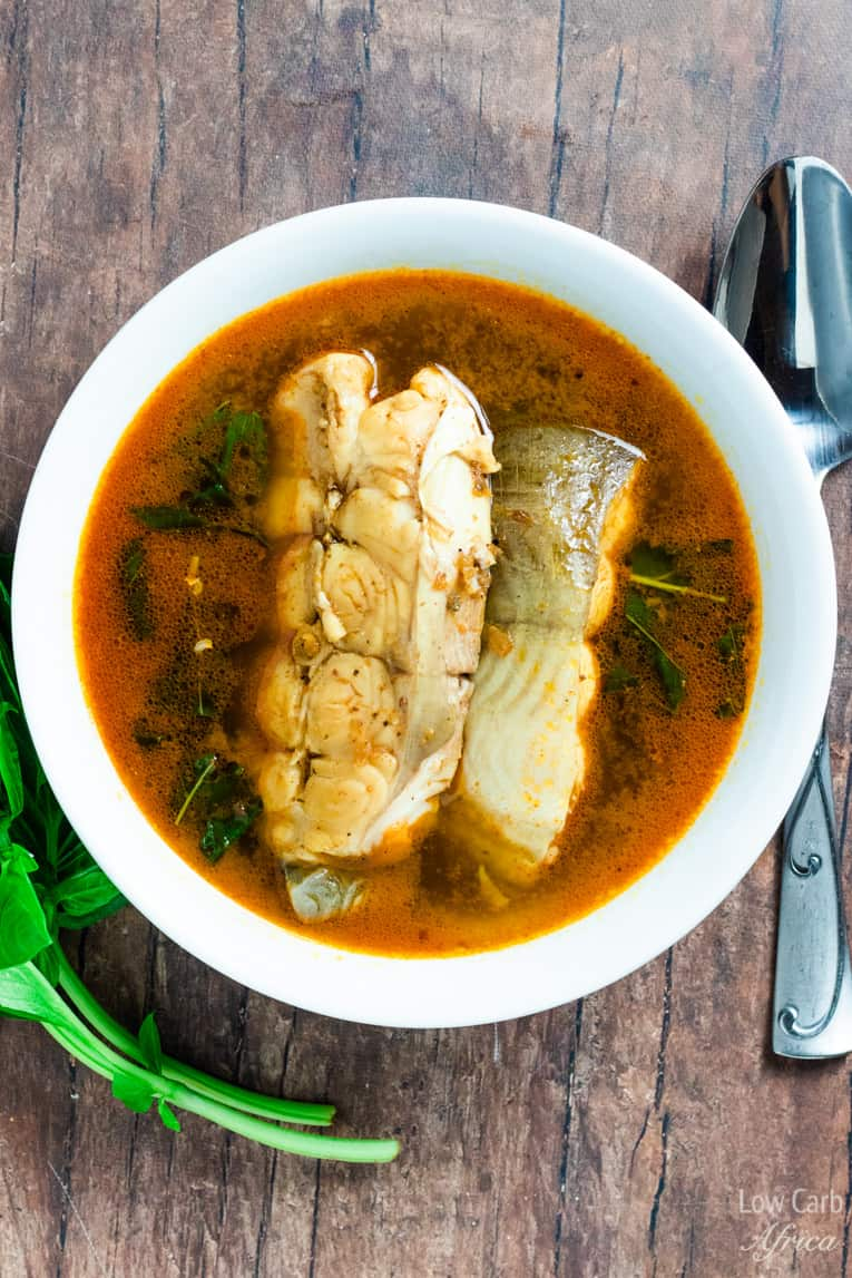 fish pepper soup made with African pepper soup spice