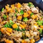 Tuna Stir Fry With Cauliflower Rice