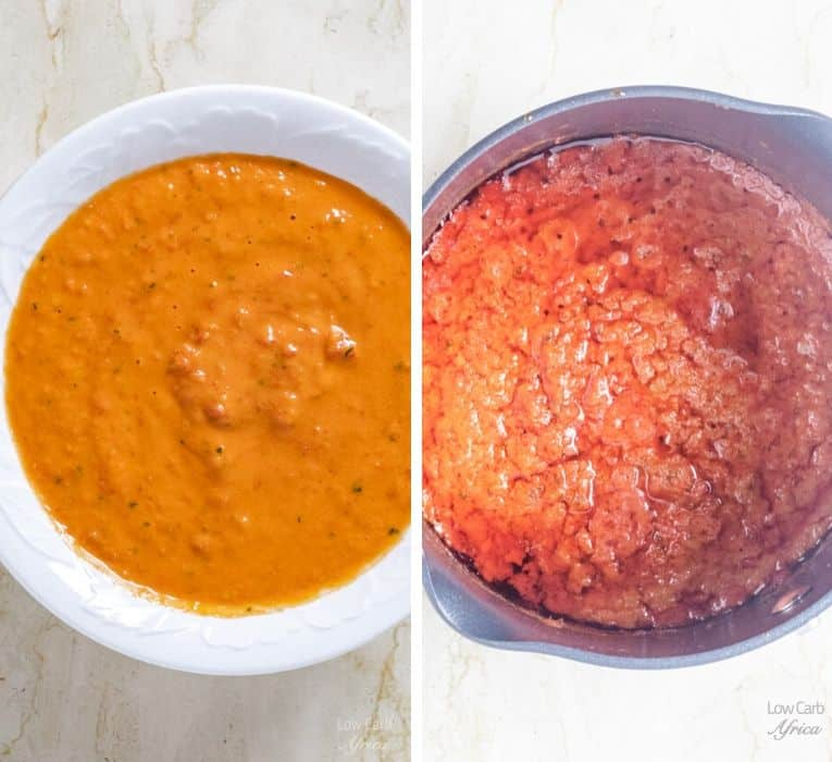 image showing how to prepare pepper sauce