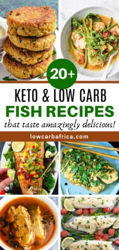 Keto FIsh Roundup-pinterest image