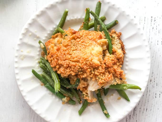 Easy Low Carb Baked Fish Dinner