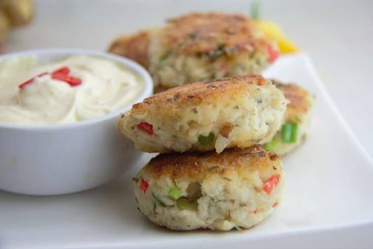 Spicy Fish Fritters