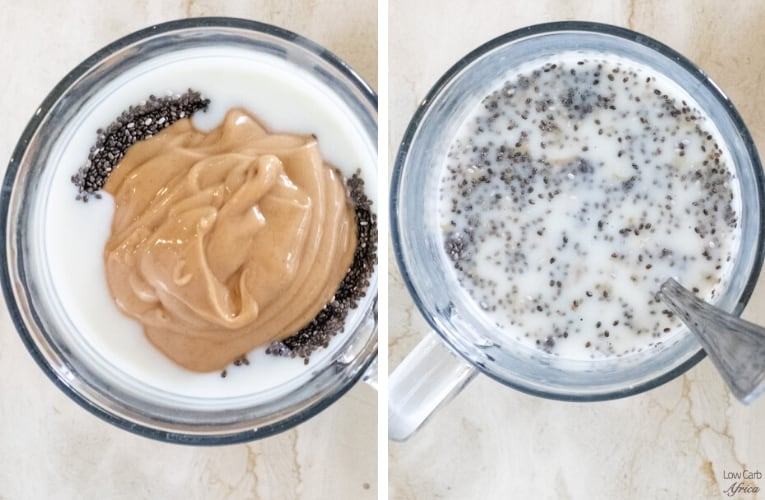 steps on how to make chia pudding