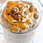featured keto chia pudding image