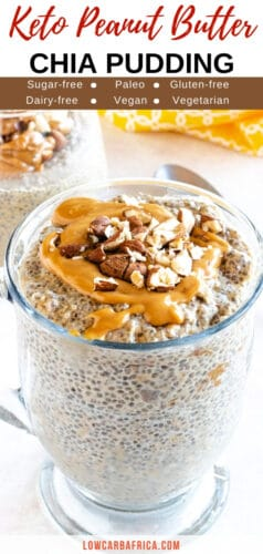 Keto Peanut Butter Chia Pudding-pinterest
